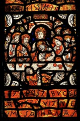 some nice glass (peet-astn) Tags: stainedglass glass medieval window chapel lytescarymanor nationaltrust lytescary