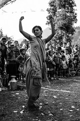 _MG_5519 (WegZ Photography) Tags: life travel nepal people bw mountains travelling monochrome festival kids village dancing area remote nepali