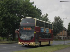 East Yorkshire 718 YX07HKE Rawling Way, Hull (1280x960) (dearingbuspix) Tags: eastyorkshire eyms yx07hke 718