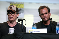 Chris McKay & Will Arnett (Gage Skidmore) Tags: will arnett chris mckay lego batman movie san diego comic con international california convention center