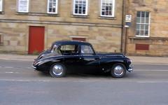 Sunbeam-Talbot  90 (Lawrence Peregrine-Trousers) Tags: sunbeam talbot 90 rootes saloon 1950s black autoshite ffffffffff classic car spots spotted