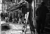 Shops, Streets of Heidelberg (1mpl) Tags: bw monochrome germany streetphotography heidelberg travelphotography niksilverefexpro olympusomdem1
