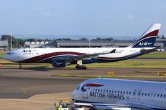 Arik Air | Airbus A330-200 | 5N-JID | London Heathrow (Dennis HKG) Tags: arik arikair ara w3 airbus a330 a330200 airbusa330 airbusa330200 aircraft airplane airport plane planespotting london heathrow egll lhr 5njid canon 7d 70200
