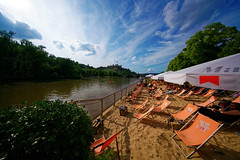 Stadtstrand (mattrkeyworth) Tags: stadtstrand beach wrzburg ilce7r2 sonya7rii voigtlnder10mm rivermain voigtlander voigtlnder 10mm voigtlanderheliarhyperwide10mmf56