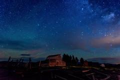 Cosmic Barn (jetguy1) Tags: ranch longexposure stars nightsky jacksonhole milkyway moultonbarn nikond810