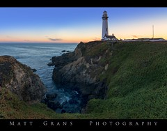 Return to the Lighthouse (Matt Grans Photography) Tags: lighthouse sunset pigeonpoint sanmateo pescadero ocean cliffs california