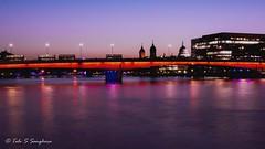 London Bridge (talv_ss) Tags: city uk longexposure nightphotography travel sunset england urban london architecture night londonbridge nikon cityscape citylife bluehour stpaulscathedral thamesriver goldenhour d5200