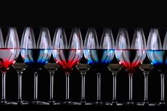 glass (*Chris van Dolleweerd*) Tags: blue red glass reflections dark studio wine drink cocktail wineglass liquid donker drank wijn wijnglas strobist chrisvandolleweerd