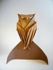 Owl (Chim c mo) - T Trung ng (Rui.Roda) Tags: origami papiroflexia papierfalten bho mocho coruja hibou eule owl chim c mo t trung ng