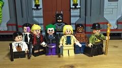 JOKER (LordAllo) Tags: lego dc batman joker jonny frost harley quinn two face killer croc riddler penguin