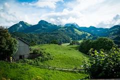 View From Gruyere (R. Murphy Photography) Tags: mountains landscape switzerland fuji gruyere xpro1