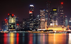 SINGAPORE VIEW (patrick555666751) Tags: singaporeview singapore view singapura nuit light night asie asia du sud est south east