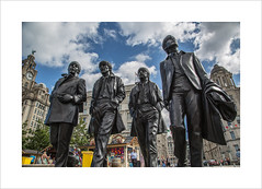The Fab Four (andyrousephotography) Tags: liverpool pierhead waterfront thebeatles fabfour paul john george ringo thecavernclub statues sculptures sculptor andyedwards