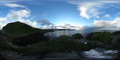 360 - Antrim Coast (PhotCraft) Tags: equirectangular northern ireland 360 spherical antrim ballygally northernireland ulster antrimcoast
