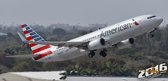 American Airlines | Boeing | 737-823 | N964AN | F/N:3CV | S/N:30093 | L/N:837 (Winglet Photography) Tags: plane airplane aircraft airline airlines airliner jet jetliner flight flying aviation travel transport transportation spotting planespotting georgewidener georgerwidener stockphoto wingletphotography canon 7d dslr fortlauderdale ftlauderdale fll kfll florida fl 2016 south aa aal boeing 737 737800 737823 n964an 3cv 30093 837 takeoff rotation departure