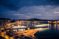 Ancona at blue hour (simone80an) Tags: bluehour seascape landscape cityscape