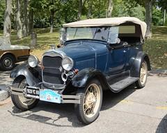 Ford, Model A (tats-Unis, 1929) (Cletus Awreetus) Tags: usa etatsunis ford voitureancienne car vintage voituredecollection automobile forda typea modela capote voiture collection convertible