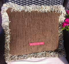 Swanning About Needlepoint Pillow (victowood) Tags: needlepoint glorafilia swans handmade sublimestitching