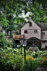 Plimoth Grist Mill (Silverio Photography) Tags: plymouth massachuetts newengland gristmill mill nature color hdr canon 60d sigma 1770 contrast photoshop elements topaz adjust raw american