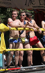 Brighton PRIDE 2016 (pg tips2) Tags: 3 three undies pants boys men brighton pride 2016 brightonpride2016 lgbt community parade diversity gender fluidity city folk people social peoples gay lesbian straight hetro trans bisexual