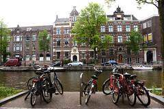 Bike park (Mel s away) Tags: amsterdam netherlands  bike park parking transportation