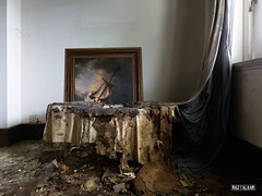 storm on the sea of galilee (Raz Talhar) Tags: raztalhar abandoned derelict decay urbex malaysia rembrandt painting urbanexploration colonial mansion