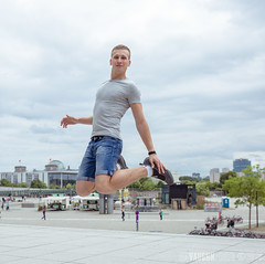 (alex.vaughn90) Tags: visit portrait people germany walking outdoor berlin sightseeing travel friends tourism july model hauptbahnhof europe tourist walk sema