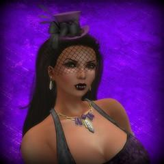 Anachron - Burlesque Corset Orchid - Close Up (melyna.foxclaw) Tags: anachron genre burlesquecorsetoutfit artdecoempirejewelry reign lumae glamorize raddesignz moonelixir iheartslfeed