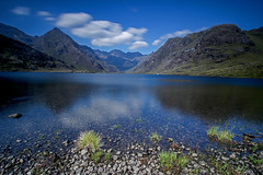 Loch Coruisk (Craig Hannah) Tags: lochcoruisk skye cuillinridge cuillins scotland craighannah august 2016 uk longexposure bigstopper clouds reflection mountain