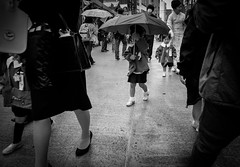 Me and my umbrella (BoyBitch) Tags: rain umbrella tokyo focus snap gr ricoh