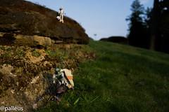 Stolen property.jpg (@Palleus) Tags: miniature starwars nanaimo stormtrooper hunter diorama speederbike