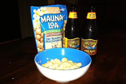Mauna Loa Macademia Nuts, Beer