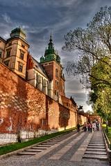 Castello di Wawel (socrates197577) Tags: primavera nikon castello polonia castelli cracovia città ndr photomatix vawel
