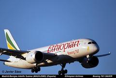 Ethiopian Airlines Boeing 767-360/ER (ET-AOQ) (javier sz) Tags: spain boeing airlines aviones adolfo comerciales ethiopian surez madridbarajas madlemd 767360er etaoq