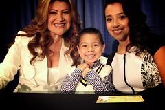 Jackeline Cacho, Nicholas and Stefani Vara