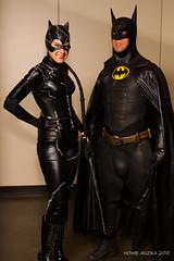 MegaCon 2015 Cosplay - BATMAN RETURNS - CATWOMAN & BATWOMAN (Howie Muzika) Tags: cosplay dccomics megacon 2015