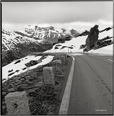 Spring will come here too_Hasselblad (ksadjina) Tags: 6x6 film analog austria blackwhite scan rodinal hasselblad500cm silverfast 6min kodak100tmax nationalparkhohetauern nikonsupercoolscan9000ed grosglocknerhochalpenstrasse