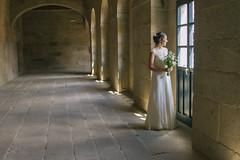 La novia espía (Laila G.P) Tags: wedding bride boda monasterio novia ourense claustro seleccionar arnoia sanclodio