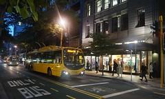 Willis Street (andrewsurgenor) Tags: electric transport transit nz wellington publictransport streetscenes trolleybus trolleybuses trackless nzbus gowellington
