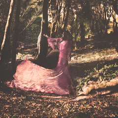 Your absence. (Cloddius) Tags: portrait woman art nature colors girl beautiful beauty photoshop hair photography spring aperture woods exposure artist photographer dress minolta expression dream picture imagination appearance imagery mirrorless
