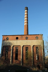 Derelict heating plant , Wrocaw 20.04.2015 (szogun000) Tags: old urban building brick abandoned industry architecture canon industrial cityscape decay poland polska smokestack forgotten forsaken derelict funnel wrocaw heatingplant lowersilesia dolnolskie dolnylsk canoneos550d canonefs18135mmf3556is