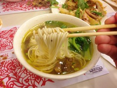 Chinese Steamed Chcken and Chicken Noodle Soup @Zhendingji, Dingxi Road, Shanghai (Phreddie) Tags: china food chicken lunch restaurant yum shanghai chinese steam eat noodle sopu zhendingji
