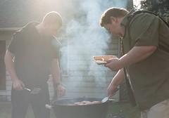 (trevor.crump) Tags: film 35mm 50mm spring bbq grill barbeque nikkor pnw nikonfe portra400