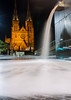 St Mary Cathedral (Poppy FD) Tags: night long exposure sydney australia cathdral