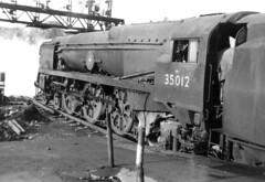 35012 at Southampton (richard.hoskin01) Tags: uk steam southampton bulleid uksteam 35012