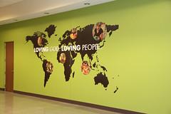 Wall Decal | Christian Fellowship Church Rebrand | Signarama Evansville, IN