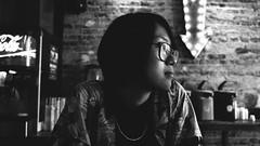 . (hc_hillary) Tags: portrait blackandwhite bw toronto digital blackwhite downtown fuji fujifilm 1855mm downtowntoronto blackwhitephotography xf blogto fujix blackwhiteconversion fujixpro1 fancyfranks
