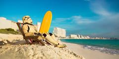 trooper beach (kiawah1421courtside) Tags: japan dessert toys photography starwars yoda desert fineart panoramic actionfigures r2d2 c3p0 osaka slt c3po thesecretlifeoftoys dnes tattoine