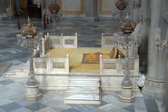 Thr Throne in the Darbar (VinayakH) Tags: india gardens royal palace hyderabad royalpalace nizam telangana chowmahallapalace