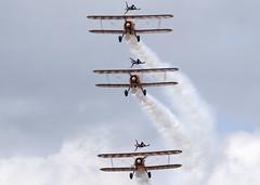 SE-BOG_N2S-3_EGVA_2677 (Mike Head - Jetwashphotos) Tags: uk england demo unitedkingdom britain professional formation demonstration boeing ffd riat breitling royalinternationalairtattoo jwp kaydet wingwalkers raffairford formationflying n2s3 egva b75n1